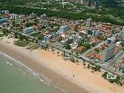 Aerial Photo of apartment area and beach..