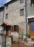 Front view of Casa SUBO Our Tuscan Village house..