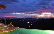 Stunning views day and night, the Pacific and Gulf of Nicoya in the distance....