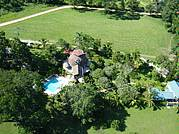 Aerial View - Cottage is on the top left...