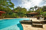 Custom built pool with 860 sq foot rancho or pool house..