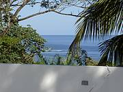View of Caribbean Sea from Roof of Villa..