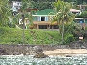 View of house from offshore..