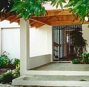 Front view of house..