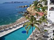 1. Your place in the Acapulco sun is here! Cabana, pools, palapas, play on the beach, snorkel Acapulco Bay..
