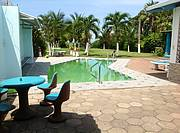 Pool and grill area..