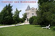 Exterior of the Chateau des Barrigards in the heart of Burgandy..
