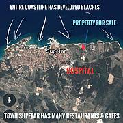 The position of the property, beaches & hospital..