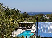 GGV View of Caribbean Sea from House Deck..