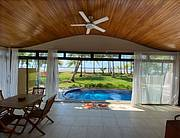 beach front home..