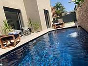 Private pool..