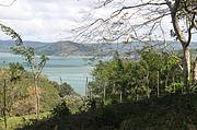 View of Lake Arenal from the deck..