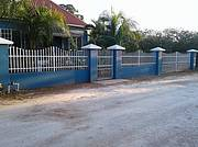 Front Fence View of House and Property..